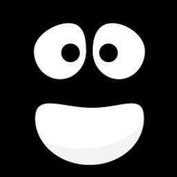 Black Smiley 1