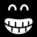 Black Smiley 11-128