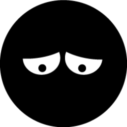 Black Smiley 18