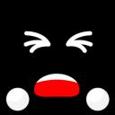 Black Smiley 2-128
