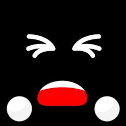 Black Smiley 2