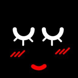 Black Smiley 23