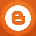 Blogger flat circle-128