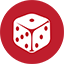Board Games red icon
