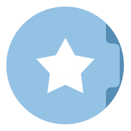 Bookmark Folder Circle