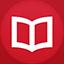 Books flat circle Icon