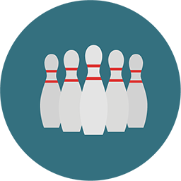 Bowling Icon Download Flat Round Icons Iconspedia