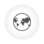 Browser white round icon