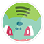 Bulbasaur Spotify icon