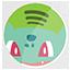 Bulbasaur Spotify icon