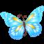 Butterfly Blue-64