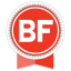 Buzzfeed Round Ribbon Icon