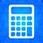 Calculator blue-48