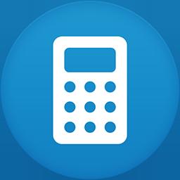 Calculator flat circle