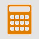 Calculator flat-128