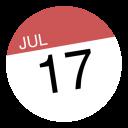 Calendar Circle-128