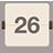 Calendar flat brown-48