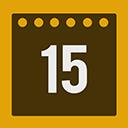 Calendar flat-128