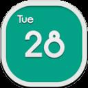 Calendar Flat Round
