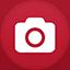 Camera flat circle Icon