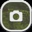 Camera Flat Round icon