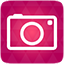 Camera red icon