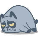 Cat Grumpy-128