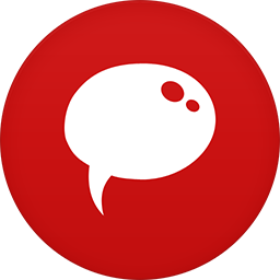 Chat flat circle