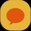 Chat Flat Round
