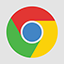 Chrome flat icon