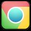 Chrome Pastel Icon