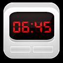 Clock Alarm White