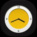 Clock Analog Flat Round
