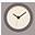 Clock flat brown-32