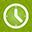 Clock green-32