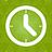 Clock green-48