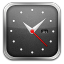 Clock Silver Icon