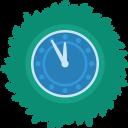 Clock Wreath-128
