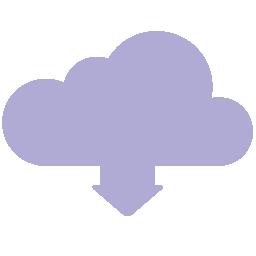 Cloud Download Flat