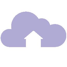 Cloud Upload flat