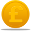 Coin Pound Icon