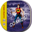Comicbook Flat Round icon