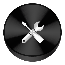 Config Black Drive Circle Icon Download The Circle Icons Iconspedia