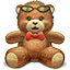 Cute Teady Bear icon
