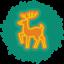 Deer Wreath-64