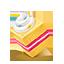 Desert yellow icon