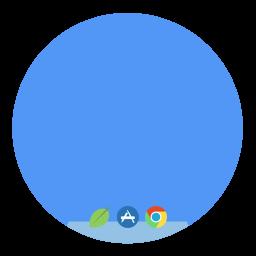 Desktop Folder Circle