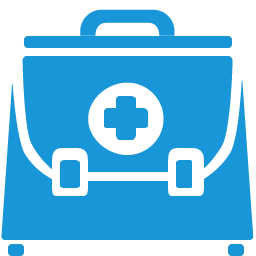 Doctor Briefcase blue