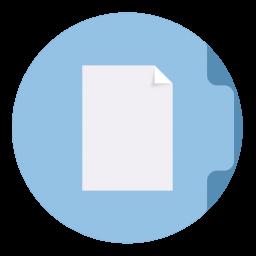 Documents Folder Circle
