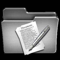 Documents Steel Folder
